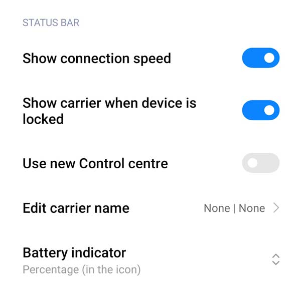 Show Connection Speed