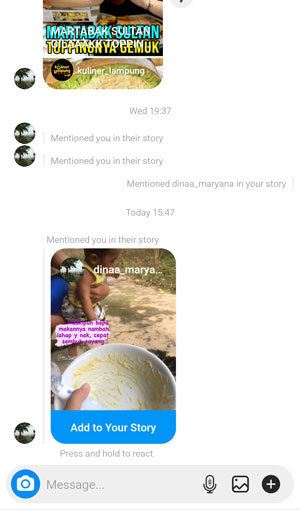 Add To Your Story